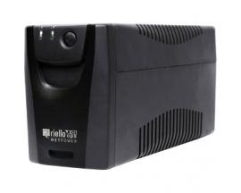 SAI de línea interactiva Riello NetPower NPW 600 - 600 VA/360 W - Torre - Acido de plomo sellada (SLA) - 220 V AC Entrada - 230