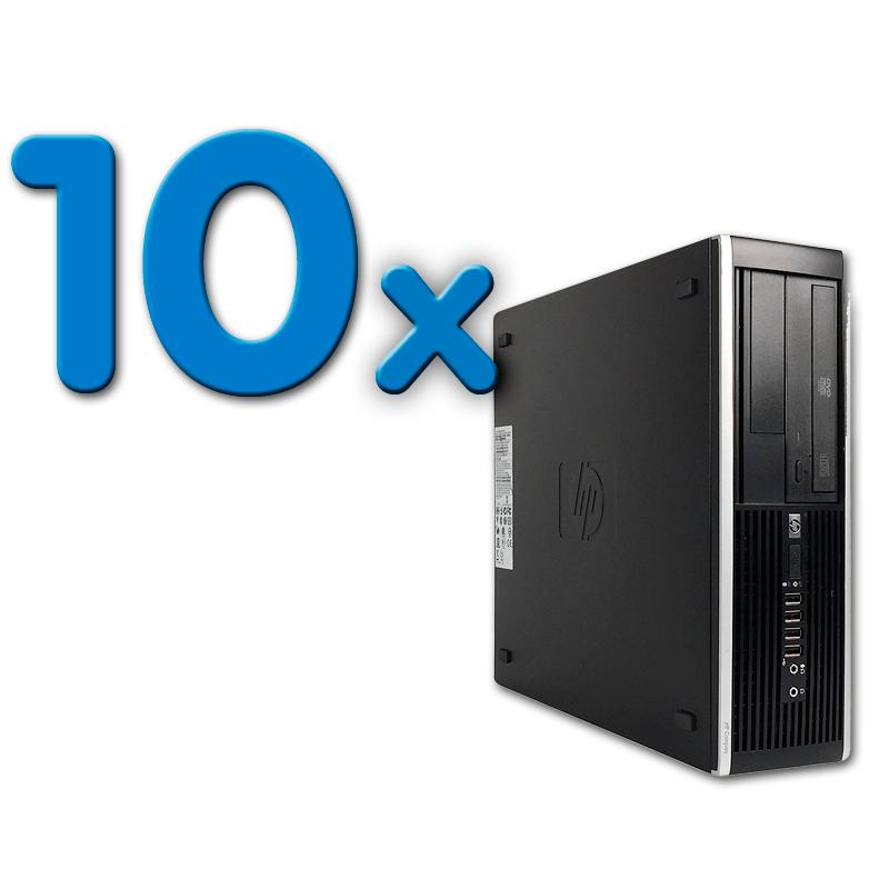HP 8300 Elite SFF Pack 10Pack 10 Unidades: Intel Core i5 3470 3.2 GHz. · 4 Gb. DDR3 RAM · 500 Gb. SATA · COA Windows 7 Profe