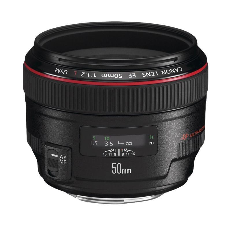 EF 50mm f/1.2L USM SLR Negro - Imagen 1