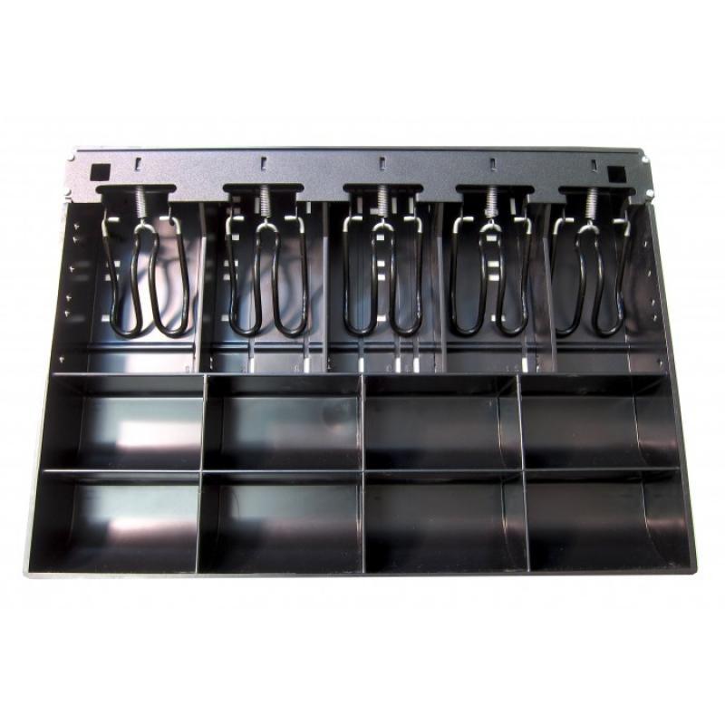 PK-15TA-M1-BX bandeja para cajón portamonedas Negro - Imagen 1