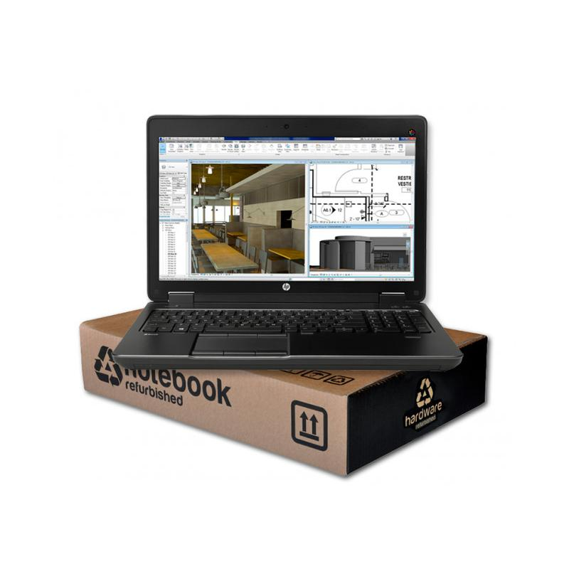 HP ZBook 15 G3 WorkStationIntel Core i7 6820HQ 2.7 GHz. · 16 Gb. SO-DDR4 RAM · 500 Gb. SSD M2 · Teclado internacional con pe