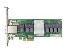Controlador SAS Intel - 12Gb/s SAS - PCI Express x4 - Tarjeta Plug-in - 36 Total puerto(s) SAS - 28 Puerto(s) interno SAS - 8 SA