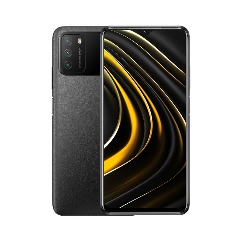 "POCO M3 16,6 cm (6.53"") SIM doble Android 10.0 4G USB Tipo C 4 GB 64 GB 6000 mAh Negro - Imagen 1"