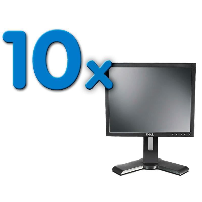 Dell P170S Pack 10Pack 10 Unidades: LCD 17 '' HD 5:4 · Resolución 1280x1024 · Dot pitch 0.264 mm · Respuesta 5 ms ·