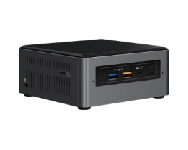 Ordenador sobremesa Intel NUC NUC7i5BNH - Intel Core i5 (7th Gen) i5-7260U 2,20 GHz - Mini PC - Intel Iris Plus Graphics 640 Grá