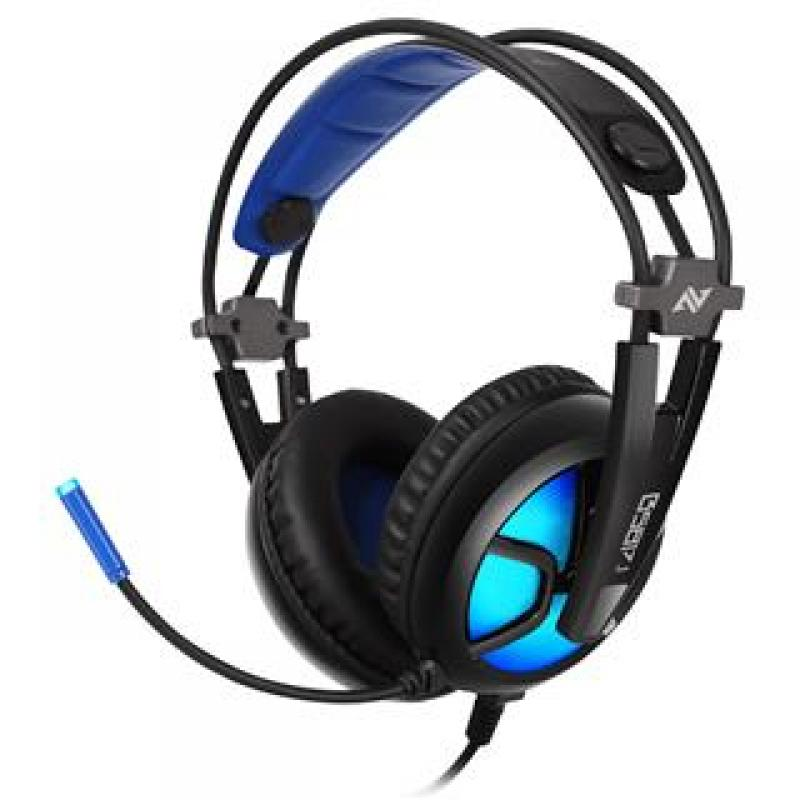 AURICULARES GAMING ABKONCORE B581 VIRTUAL 7.1 RGB LED - Imagen 1