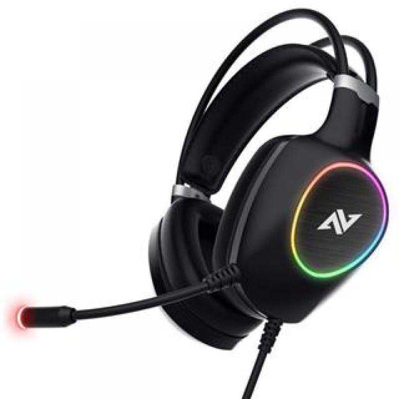 AURICULARES GAMING ABKONCORE CH55 VIRTUAL 7.1 RGB LED - Imagen 1