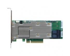 Controlador NVMe Intel RSP3DD080F - 12Gb/s SAS, Serie ATA/600 - PCI Express 3.0 x8 - Tarjeta Plug-in - 4 GB - Compatibilidad con