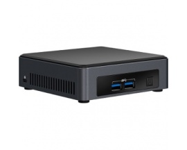 Ordenador sobremesa Intel NUC NUC7i3DNKE - Intel Core i3 (7th Gen) i3-7100U 2,40 GHz DDR4 SDRAM - Mini PC - Intel HD Graphics 62