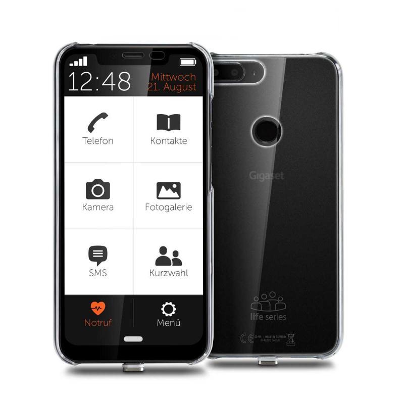 """GS195LS smartphones 15,7 cm (6.18"""") SIM doble Android 9.0 4G USB Tipo C 2 GB 32 GB 4000 mAh Negro - Imagen 1"""