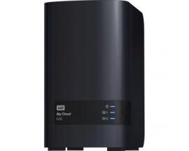 Sistema de almacenamiento NAS WD My Cloud EX2 WDBVBZ0040JCH-EESN - Torre - Marvell 1,20 GHz - 2 x HDD Instalado - 4 TB Capacidad