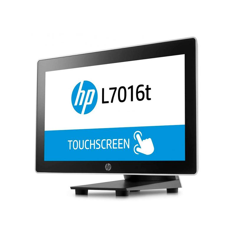 HP L7016T Táctil 15.6 '' HD 16:9 · Resolución 1366x768 · Dot pitch 0.252 mm · Respuesta 8 ms · Contraste 500:1 · Brillo 360 cd