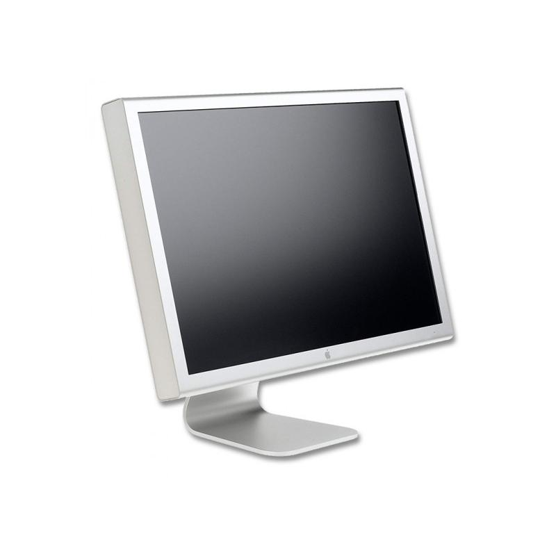 Apple Cinema HD Display 30'' LCD 30 '' 2K 16:10 · Resolución 2560x1600 · Dot pitch 0.25 mm · Respuesta 14 ms · Contraste 700:1