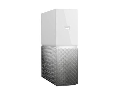 Sistema de almacenamiento NAS WD My Cloud Home WDBVXC0020HWT-EESN - De Escritorio - 1 x HDD admitido - 1 x HDD Instalado - 2 TB