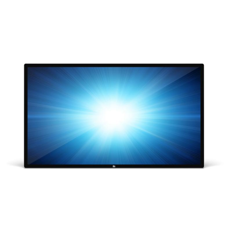 "5553L Panel plano interactivo 138,7 cm (54.6"") TFT 4K Ultra HD Negro Pantalla táctil - Imagen 1"