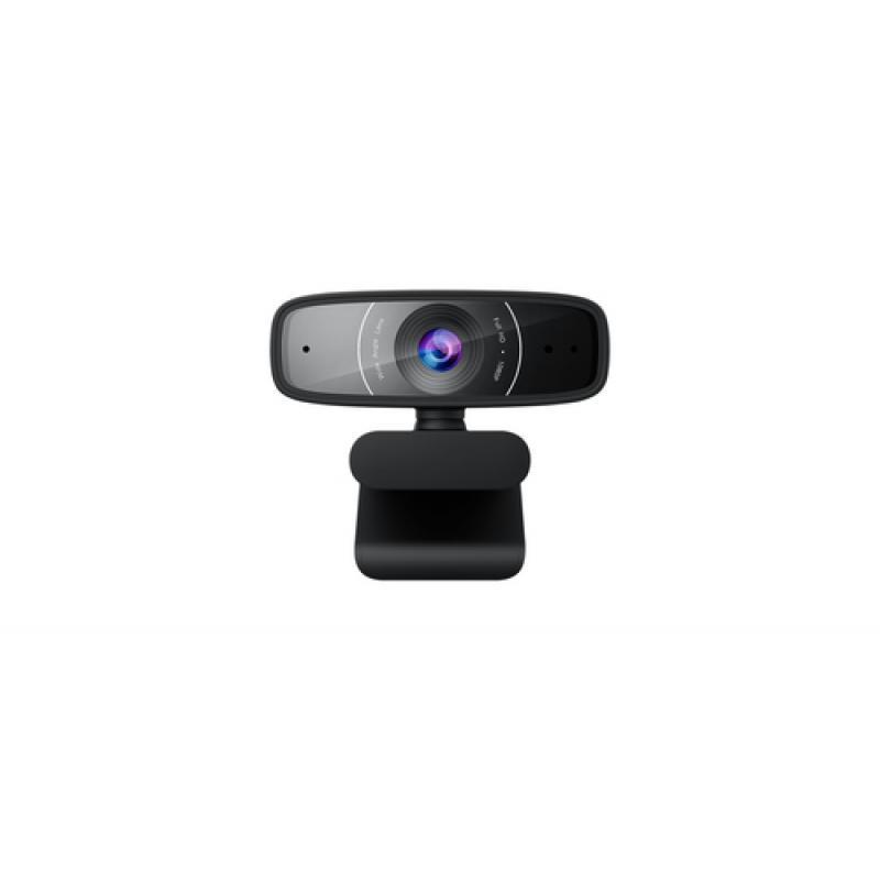 ASUS Webcam C3 cámara web 1920 x 1080 Pixeles USB 2.0 Negro - Imagen 1