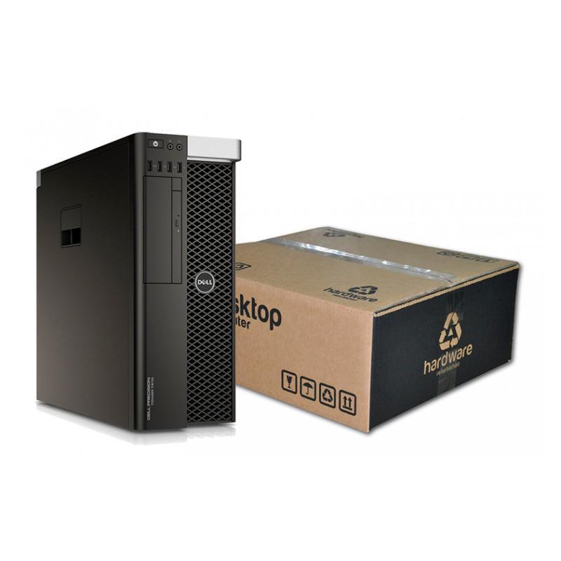 Dell T7810 WorkStation 2x Intel Xeon Six Core E5-2620 V3 2.4 GHz. · 64 Gb. DDR3 ECC RAM · 240 Gb. SSD · Windows 10 Pro · nVidia