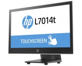 "Monitor de pantalla táctil LED HP L7014t - 35,6 cm (14"") - 16:9 - 16 ms - Projected Capacitive - 1366 x 768 - WXGA - 14.4 mi"