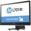 """Monitor de pantalla táctil LED HP L7014t - 35,6 cm (14"""") - 16:9 - 16 ms - Projected Capacitive - 1366 x 768 - WXGA - 14.4 mi"""