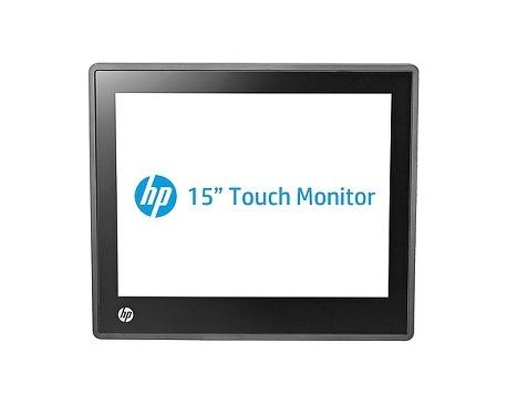 "Monitor de pantalla táctil LCD HP L6015tm - 38,1 cm (15"") - 4:3 - 25 ms - Projected Capacitive - Pantalla Multi-táctil - 128"