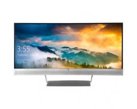"""HP S340c 34"""" Wide Quad HD Mate Plata pantalla para PC"""