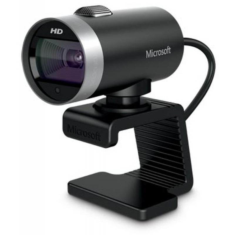 Microsoft LifeCam Cinema cámara web 1 MP 1280 x 720 Pixeles USB 2.0 Negro - Imagen 1