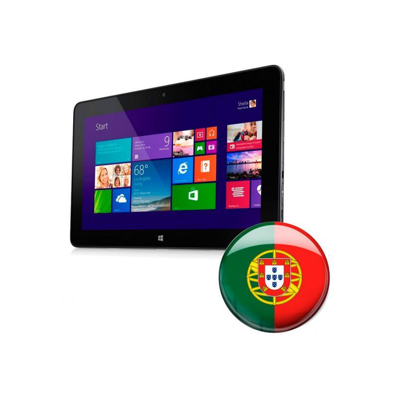 Dell Venue 11 Pro 7140 Intel Core Solo 5Y10 0.8 GHz. · 4 Gb. SO-DDR3 RAM · 128 Gb. SSD · Windows 10 Pro (Portuguese) · Táctil 10