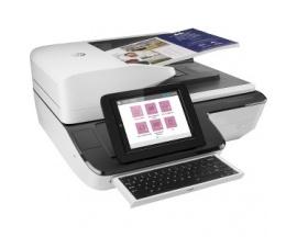 Escáner de superficie plana HP Scanjet Flow N9120 fn2 - 600 ppp Óptico - 24-bit Color - 8-bit Escala de grises - 120 ppm (Mono)