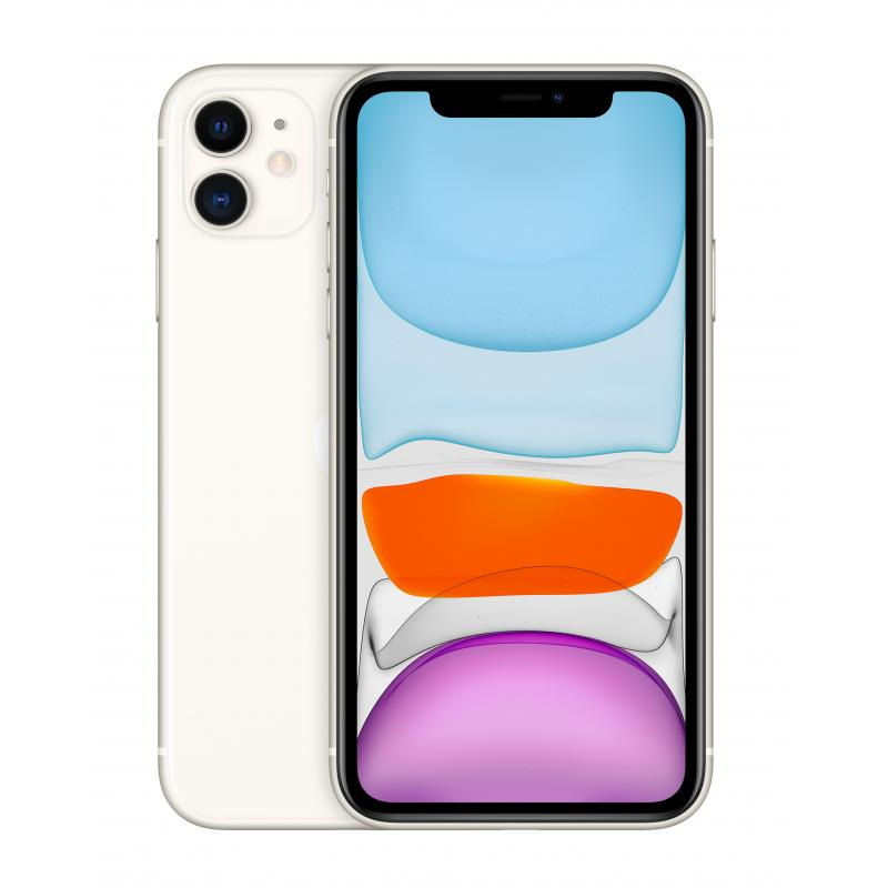 "iPhone 11 15,5 cm (6.1"") SIM doble iOS 14 4G 128 GB Blanco - Imagen 1"