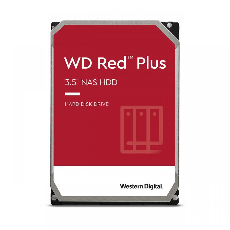 "WD Red Plus 3.5"" 4000 GB Serial ATA III - Imagen 1"