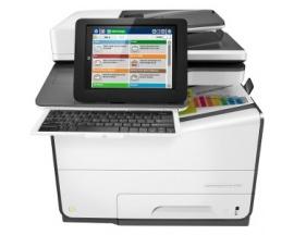 Impresora multifunción Page Wide Array HP PageWide Enterprise 586z - Color - Papel para imprimir sencillo - De Escritorio - Copi