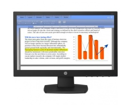 "Monitor LCD HP V197 - 47 cm (18,5"") - LED - 16:9 - 5 ms - 1366 x 768 - 200 cd/m² - 5,000,000:1 - WXGA - DVI - VGA - 17"