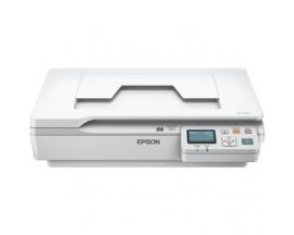 Escáneres planos Epson WorkForce DS-5500N - 1200 ppp Óptico - 48-bit Color - Ethernet - Imagen 1