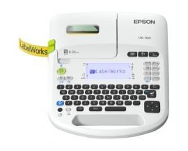 Impresora de etiqueta electrónica Epson LabelWorks LW-700 - Transferencia térmica - 13 mm/s Mono - 180 dpi - Cinta, Etiqu