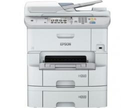 Impresora de inyección de tinta multifunción Epson WorkForce Pro WF-6590DWF - Color - Papel para imprimir sencillo - Copiadora/F