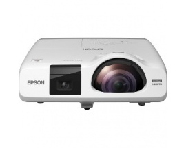 Proyector LCD Epson EB-536Wi Enfoque corto - 16:10 - Frontal, De Techo - Interactive - 215 W - 5000 Hora(s) Normal Mode - 10000