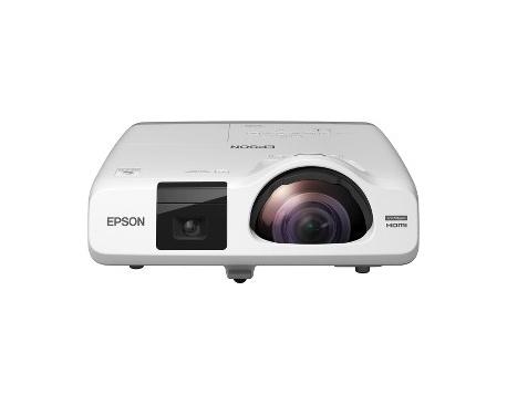 Proyector LCD Epson EB-536Wi Enfoque corto - 16:10 - Frontal, De Techo - Interactive - 215 W - 5000 Hora(s) Normal Mode - 10000