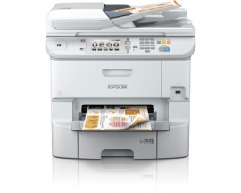 Impresora de inyección de tinta multifunción Epson WorkForce Pro WF-6590D2TWFC - Color - Papel para imprimir sencillo - De Escri