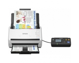 Escáner de superficie plana Epson WorkForce DS-530N - 600 ppp Óptico - 24-bit Color - 35 ppm (Mono) - 35 ppm (Color) - Escaneo d