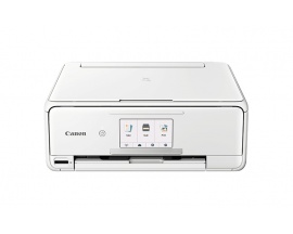 Impresora de inyección de tinta multifunción Canon PIXMA TS8151 - Color - Foto/Imprimir disco - De Escritorio - Copiadora/Impres
