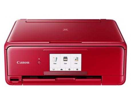 Impresora de inyección de tinta multifunción Canon PIXMA TS8152 - Color - Foto/Imprimir disco - De Escritorio - Copiadora/Impres