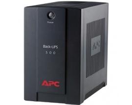 SAI de línea interactiva APC by Schneider Electric Back-UPS - 500 VA/300 W - 1 Minuto(s) Tiempo en espera - 230 V AC Entrada - 3