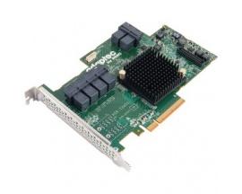 Controlador SAS Microsemi Adaptec - 6Gb/s SAS - PCI Express 3.0 x8 - Tarjeta Plug-in - Compatibilidad con RAID - 0, 1, 10, 1E, 5