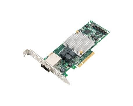 Controlador SAS Microsemi Adaptec - 12Gb/s SAS - PCI Express x8 - Tarjeta Plug-in - Compatibilidad con RAID - 0, 1, 10, 1E, 5, 6