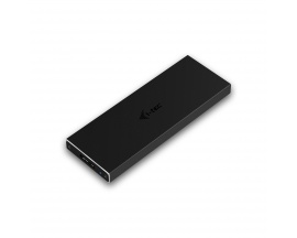 i-tec MySafe USB 3.0 M.2, caja externa para los discos M.2 B-Key SATA Based SSD (NGFF), negra