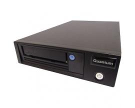 Unidad de Cinta LTO-7 Quantum - 6 TB (Nativa)/15 TB (Comprimido) - Negro - 6Gb/s SAS - 133,35 mm Ancho - 1/2H Altura - Interno -