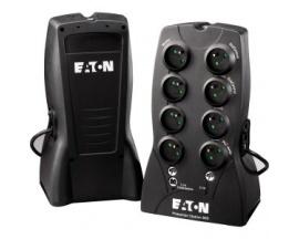 Eaton SAI Protection Station 650 USB DIN - 650VA/400W- 8 tomas (4 UPS + 4 sólo protección sobretensiones). Cumple norma IEC 61