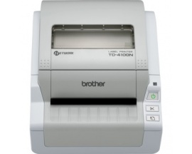 "Impresora térmica directa Brother TD-4000N - Monocromo - 300 x 300 dpi - 98,55 mm (3,88"") Ancho de Impresión - USB -"