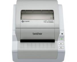 "Impresora térmica directa Brother TD-4100N - Monocromo - 300 x 300 dpi - 2504,44 mm (98,60"") Ancho de Impresión - USB"