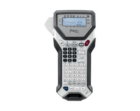 Impresora de etiqueta electrónica Brother P-touch 2470 - Transferencia térmica - 10 mm/s Mono - 180 dpi - Etiqueta, Cinta